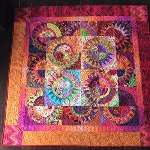 """Other - 54"""" X 54"""" quilted Wall art. An amazing gift! NWOT"""